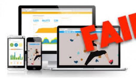 Những sai lầm có thể dẫn đến website của bạn fail