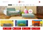 Mẫu thiết kế web nội thất