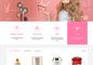 Mẫu thiết kế web bán mỹ phẩm