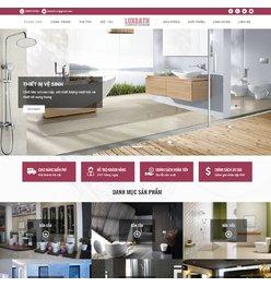 Website bán hàng - thiết bị nhà tắm