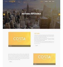 Mẫu thiết kế web giới thiệu công ty