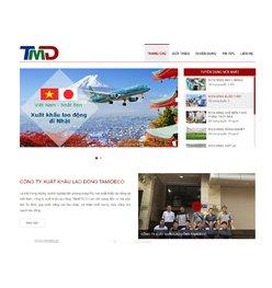 Website giới thiệu công ty xuất khẩu lao động