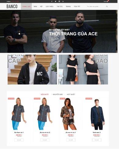 Website về thời trang