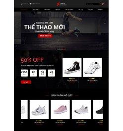 Website về bán giày thời trang