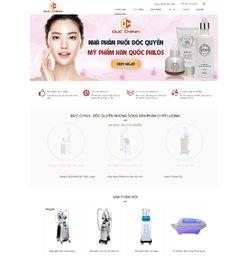 Website kinh doanh thiết bị y tế