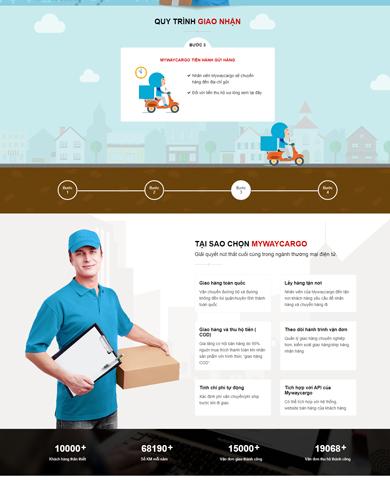 Website giới thiệu công ty vận chuyển