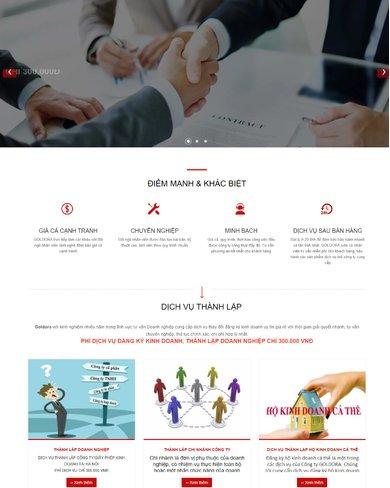 Web site dịch vụ doanh nghiệp