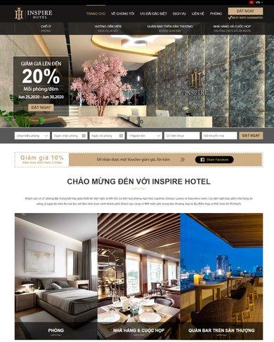 Website đặt phòng khách sạn