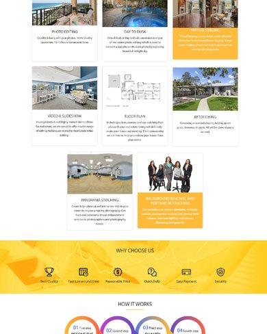 Web site giới thiệu dịch vụ