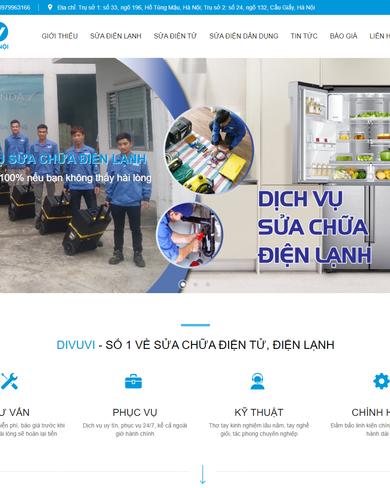 Website thiết kế và sản phẩm nội thất đa dạng